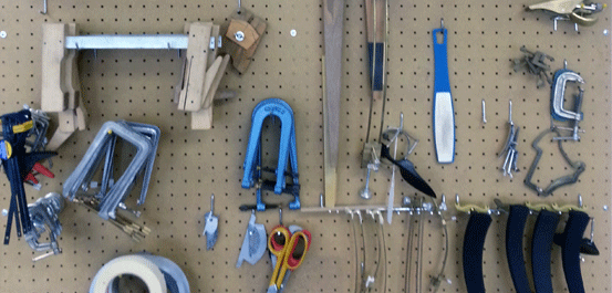 string instrument repair tools